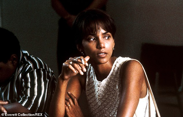 Historic performance:Berry won the Oscar for Best Actress for her work in the 2001 film Monster's Ball and is the only woman of color to have won the award