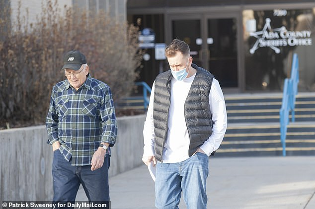 Colt pictured after he was released from Ada County Jail.Under his release conditions he agreed to location monitoring, to not posess any guns or weapons, and he must stay at least 1,000 feet away from the Idaho Statehouse and the James A.McClure Federal Building, a judge ruled