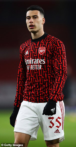 Professional hairstylist James said a fade was a difficult style even for an experienced hairdresser, and said perfecting the cut at home would be 'near impossible' for players like Gabriel Martinelli and Pierre-Emerick Aubameyang of Arsenal