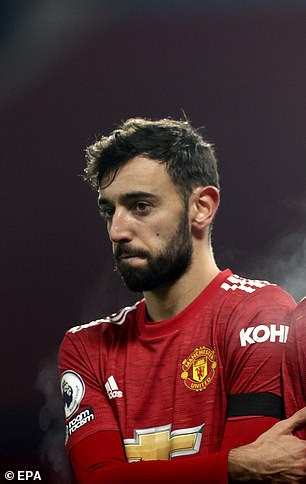 Other players to show off a much shorter style after recent appearances include Manchester United's Bruno Fernandes