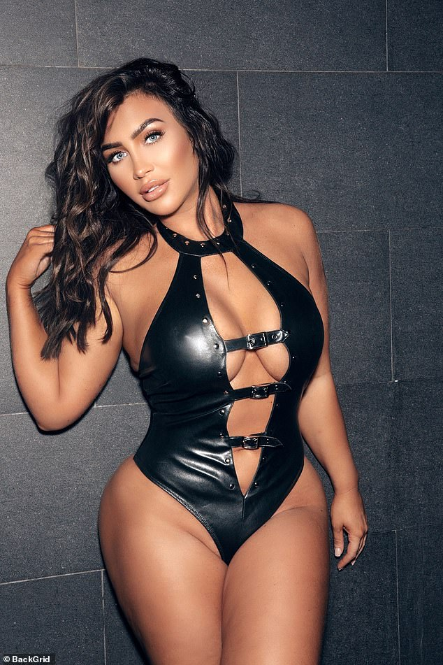 Oh my...Lauren Goodger proved her subscribers certainly get their money's worth as she posed for a sizzling photoshoot which showed off her stunning figure