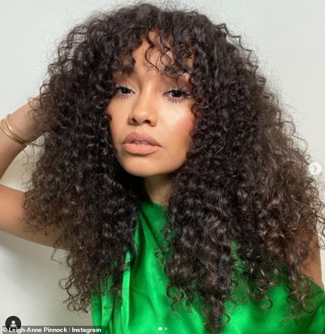 Yay!Leigh-Anne Pinnock had more exciting news to share with fans on Thursday as she revealed she had finished shooting her first-ever film Boxing Day (pictured in December)