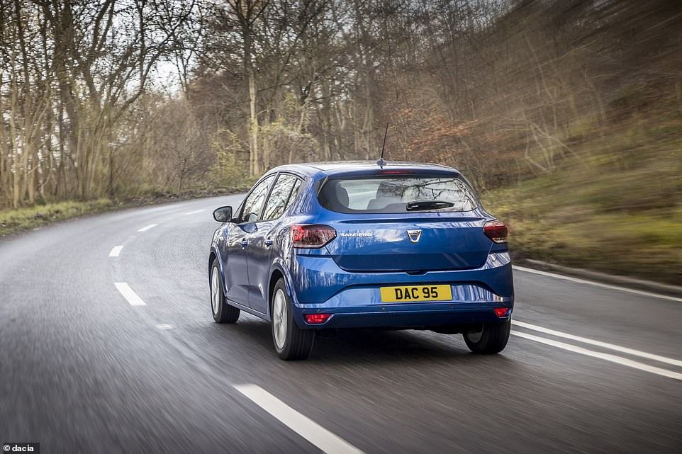 The all-new Sandero, which is due to land in UK showrooms in a matter of weeks, also won the small car of the year award