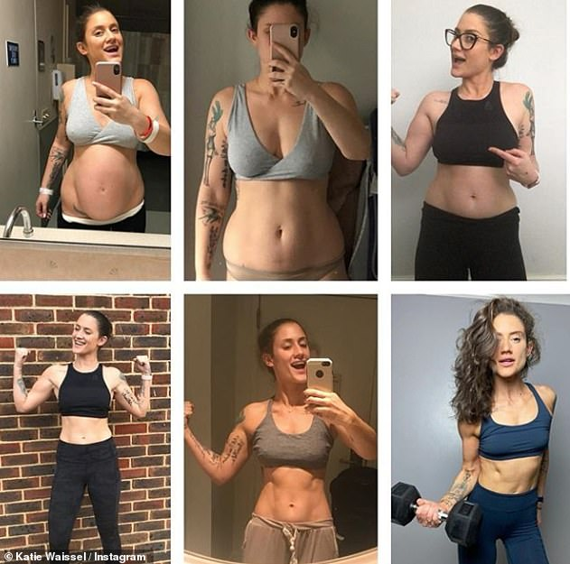 Amazing! It comes after Katie proudly documented her weight loss journey and fitness overhaul in November, sharing six incredible progress snaps on Instagram