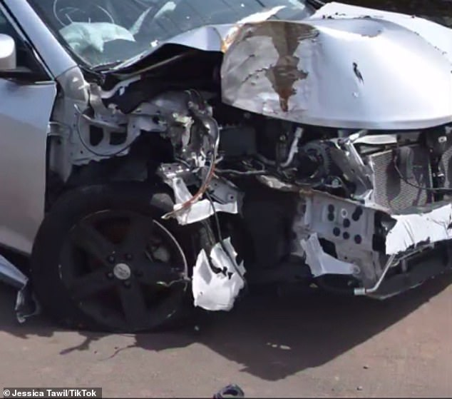 Horrific: She said she was kidnapped by friends of her friend who totaled their car and left her with catastrophic injuries