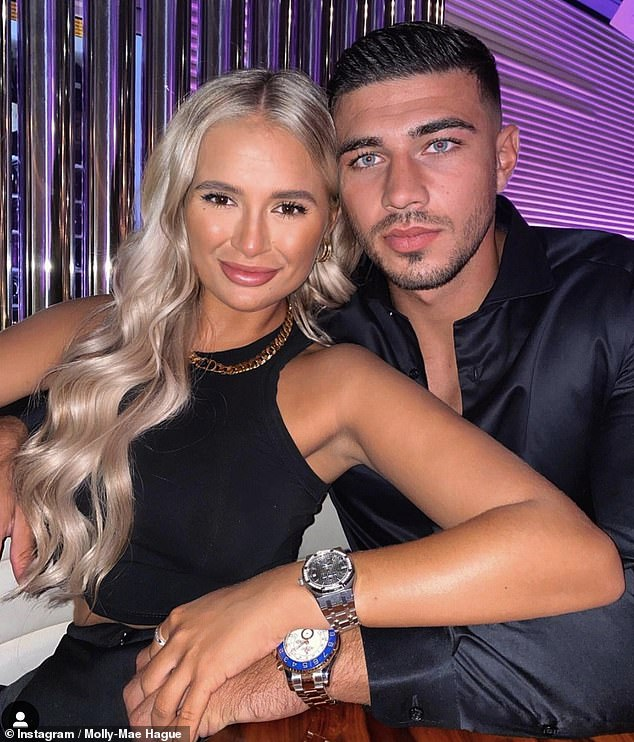 New project? Molly-Mae Hague and Tommy Fury have sparked speculation they're launching their own reality show after revealing they filmed a recent food shopping trip