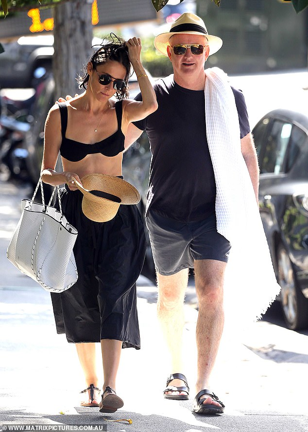 Nine boss, Hugh Marks, and his ex-employee girlfriend Alexi Baker were seen in their first public outing in two months