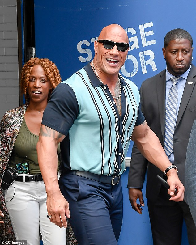 Legend:Dwayne Johnson took to his Instagram on Monday morning to announce the upcoming launch of his ZOA 'healthy warrior' energy drink