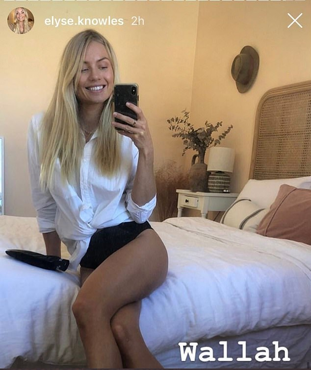 'Wallah':The account previously made headlines when it shared this screenshot of model Elyse Knowles misspelling 'voilà' as 'wallah'. The gaffe went viral in December when it was picked up by U.S. social media sensation Joshua Ostrovsky, a.k.a. The Fat Jewish
