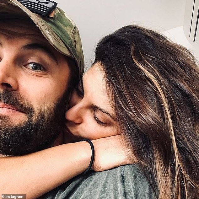 Relationship: The couple first met on the set of the Channel Seven series Wild Boys, back in 2011 and became engaged in 2014. They married in in 2015 and welcomed Austin Xavier in December 2019