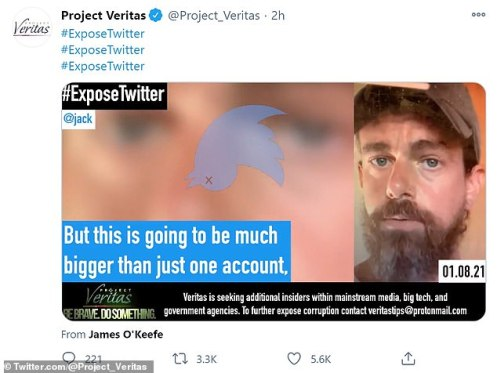 Jack Dorsey says Trump Twitter ban 'bigger than one account' in leak | Daily Mail Online
