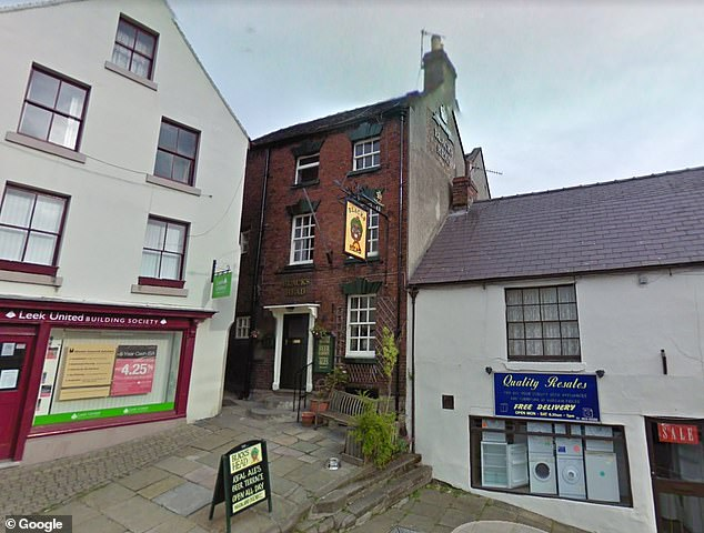 The Blacks Head (pictured) in Wirksworth, Derbyshire, was given a new name - despite locals insisting the name comes from a bottle of ginger beer