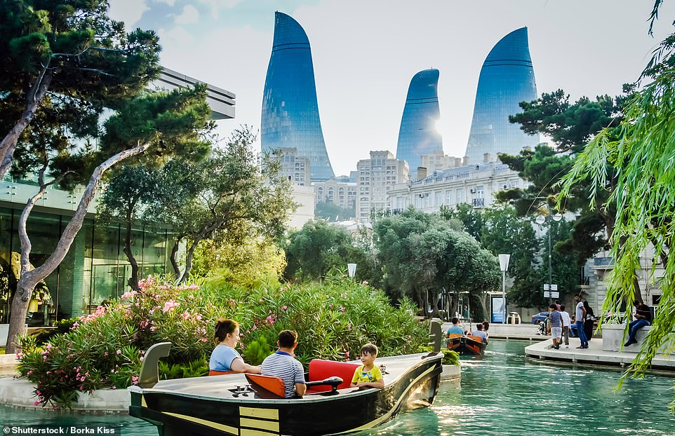 49. BAKU: According to Big 7 Travel, 'thelittle-known but widely captivating capital of Azerbaijan is loaded with Insta hotspots. From the ultramodern and award-winning Heydar Aliyev Centre to the 12-century remnants of Icherisheher'
