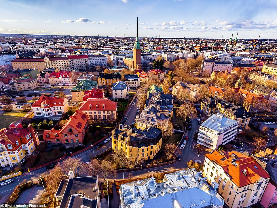 47. HELSINKI: The Finnish capital is 'aesthetically pleasing, from its vibrant neighbourhoods like the design district to its unique minimalist architecture and art nouveau buildings'. Big 7 Travel says the best places to get Instagrammable snaps areHelsinki Central Station,the National Theatre and Kallio Church