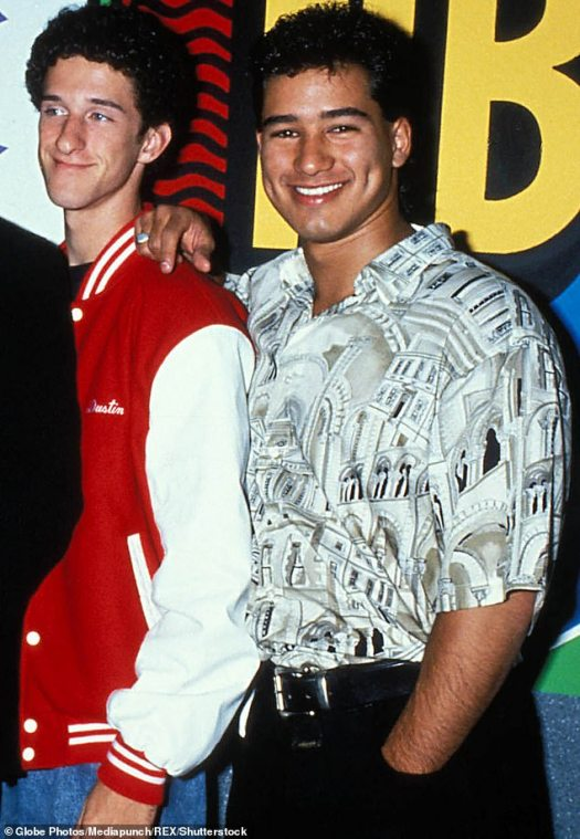 Mario Lopez says Saved By The Bell co-star Dustin Diamond ...