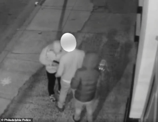 Video shows 2 gunmen surrounding man, 25, while he was walking his dog and shooting him dead