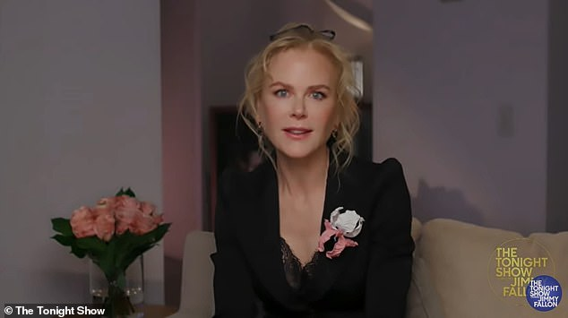 Oops!Appearing on The Tonight Show Starring Jimmy Fallon on Friday, Nicole Kidman (pictured) has revealed that one scene between herself and her Big Little Lies co-star Meryl Streep got all too real