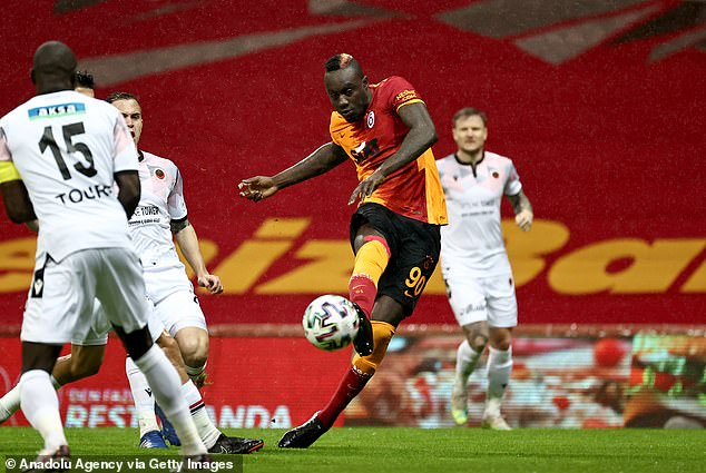 West Brom are looking at a move for Galatasaray's Mbaye Diagne on-loan with an option to buy