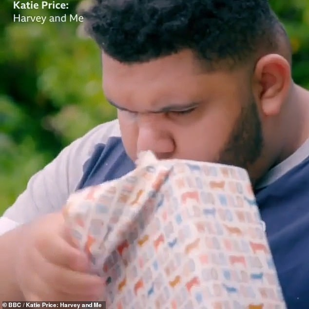 Big birthday: As the mother and son duo celebrate Harvey's 18th birthday, the former glamour model says 'things change when people turn 18, for anyone. You become an adult. Whereas for Harvey, he's got complex needs. I've got to let Harvey have the best shot at life'