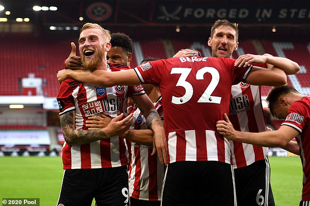 Osborn was part of the Blades squad that comfortably beat Tottenham 3-1 back last July