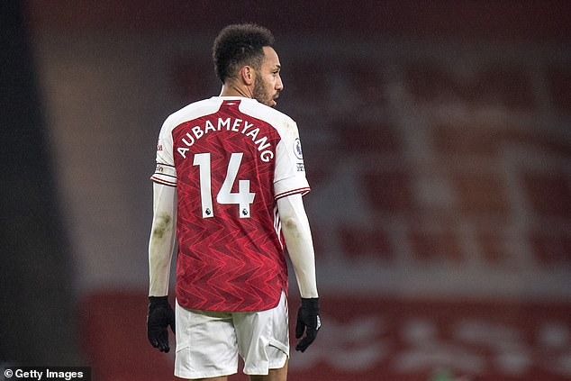 The Gabonese international signed a huge new contract with Arsenal at the start of the season