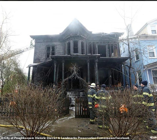 Church of Satan promises 'hex' on arsonist who burned down famous New York 'Halloween House'