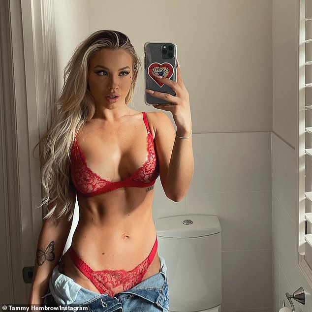 Making band: Tammy Hembrow is one of Australia's most successful influencers, and also runs several businesses