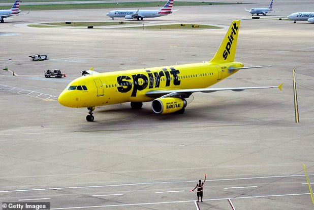 Passengers will now be banned from flying spirit again