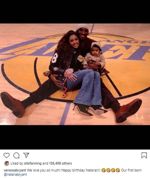 Shocking: Last week, Vanessa on Tuesday shared a collection of poignant throwing snaps with late husband Kobe to mark her husband Natalia's 18th birthday.