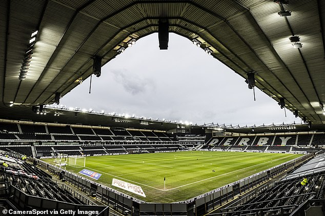 Derby have made contingency plans for it the proposed takeover by Derventio falls through