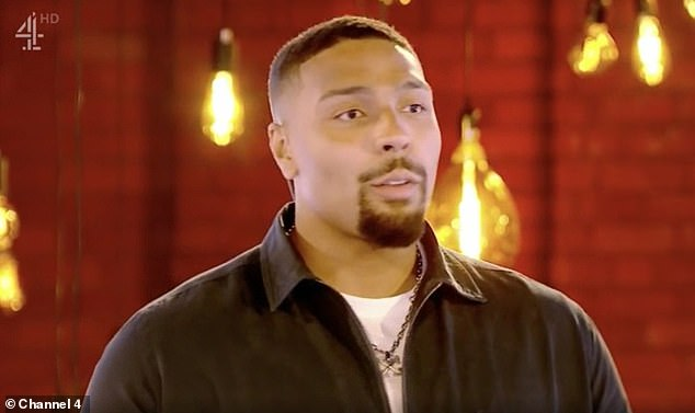 Honest:Jordan Banjo has revealed asking for help to lose weight was 'the hardest thing' he has ever had to do