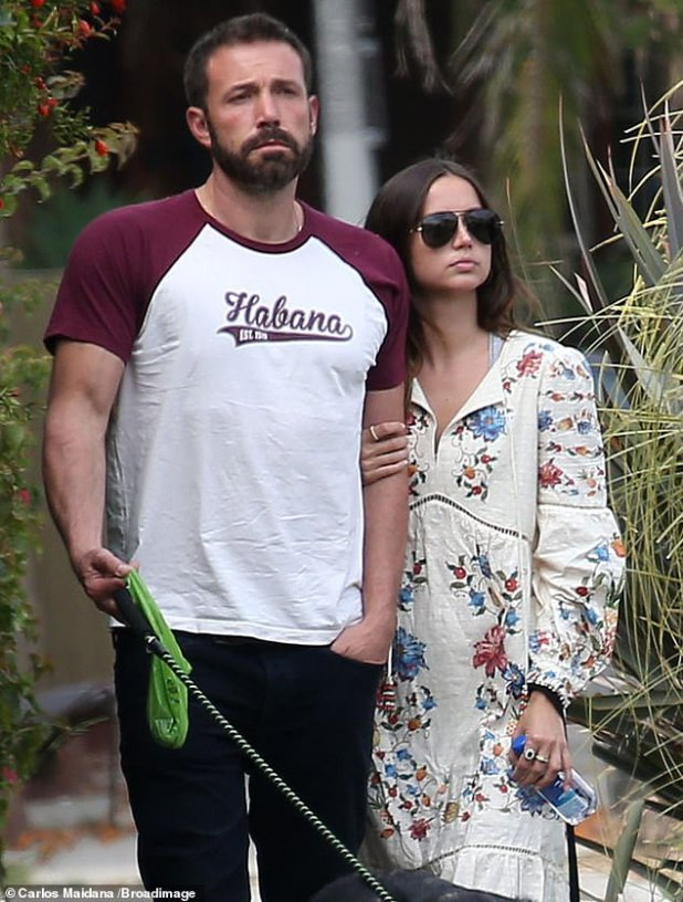 The source said that focus on himself and the family: Since their split, the father of three has been spending a lot of time with his children and 'continues to work on his own'.  Ben and Ana were spotted on June 30, 2020 in Venice Beach, CA