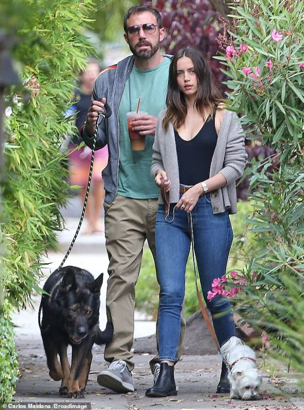 Ex: Ben and Ana met on the set of Deep Water, which will be released this summer;  Visited at Venice Beach with her puppy on July 1, 2020