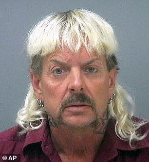 The full list of recipients was said to be 143. Trump, however, did not name Joe Exotic, 57, pictured in his mug shot, Julian Assange, 49, or Edward Snowden, 37, who were all expected to be considered for clemency