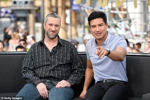 Prayers please: Lopez is 'praying' Dustin will defeat cancer.  The 47-year-old actor has taken to Instagram to voice his former saved by the Bell co-star, whose team recently revealed he has been diagnosed with a stage four of the disease;  Viewed 2016