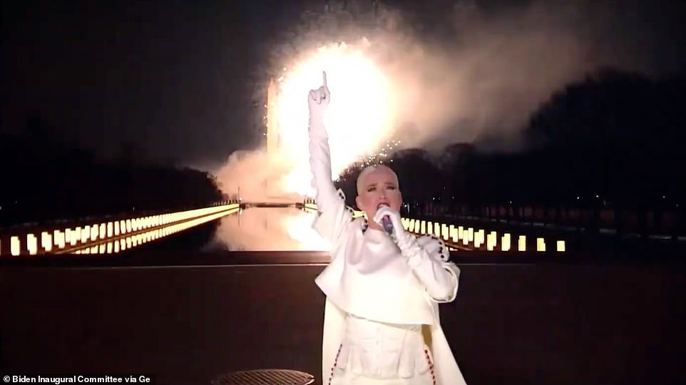 Katy Perry closes out Celebrating America livestreamed concert with epic Firework rendition