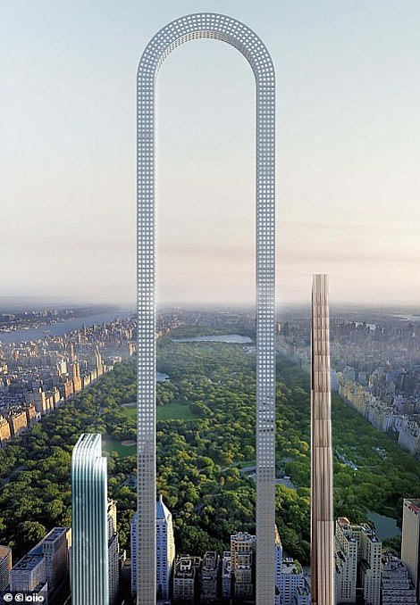 In 2017, a concept was unveiled for 'The Big Bend', a slender tower that would change the horizon of Manhattan