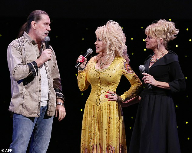 Angel:'The family and I are grieving his loss but we know he is in a better place than we are at this time,' Dolly said