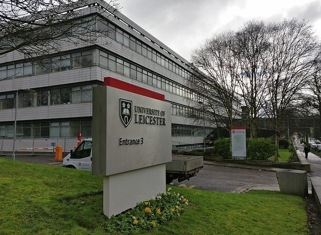 The University of Leicester has denied the changes are because they are 'too white'