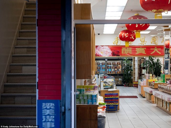 SAN FRANCISCO: An empty store in Chinatown in December as the coronavirus pandemic continues