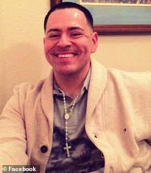 Jose Santa Cruz, 32, was killed in cold blood in Las Vegas on January 7 after he allegedly confronted a teenager spraying graffiti on a storefront
