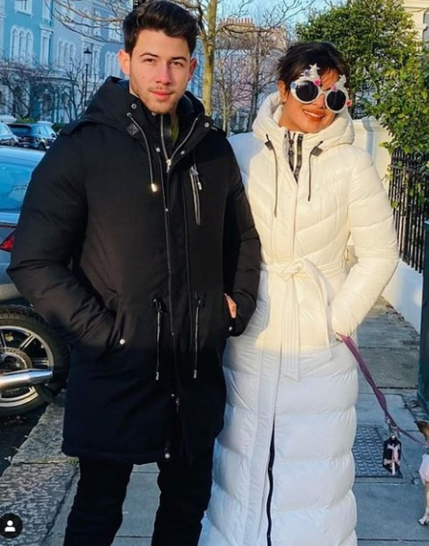 Just the two of us: The 38-year-old actress has loved spending so much time with her husband in recent months, as they are usually too busy with their careers;  Seen together in london