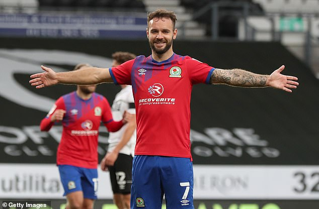 Blackburn's top goalscorer Adam Armstrong is one of the players currently on Moyes' radar