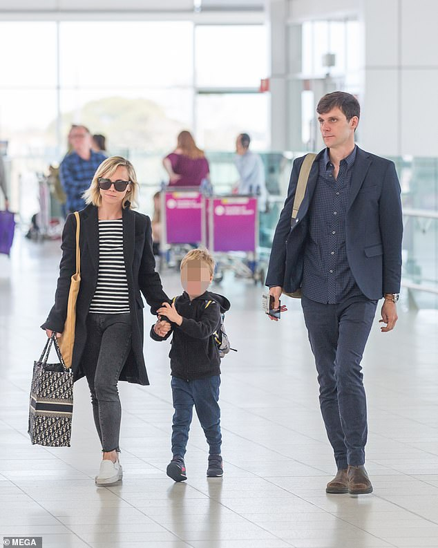 Heerdegen had filed a temporary retraining order against the actress Friday making blistering claims that Ricci would get into drunken rages in front of him and their son Freddie, black out and then forget everything she did when she finally came to. Ricci and Heerdegen seen at Adelaide Airport with their son Freddie in 2018