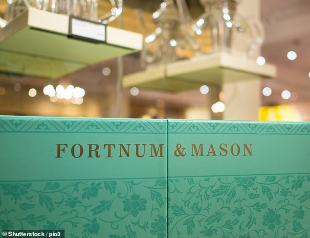 Suffering: In the year to July 2020, Fortnum's recorded a £282,000 loss, down from a £9.3m profit the year before