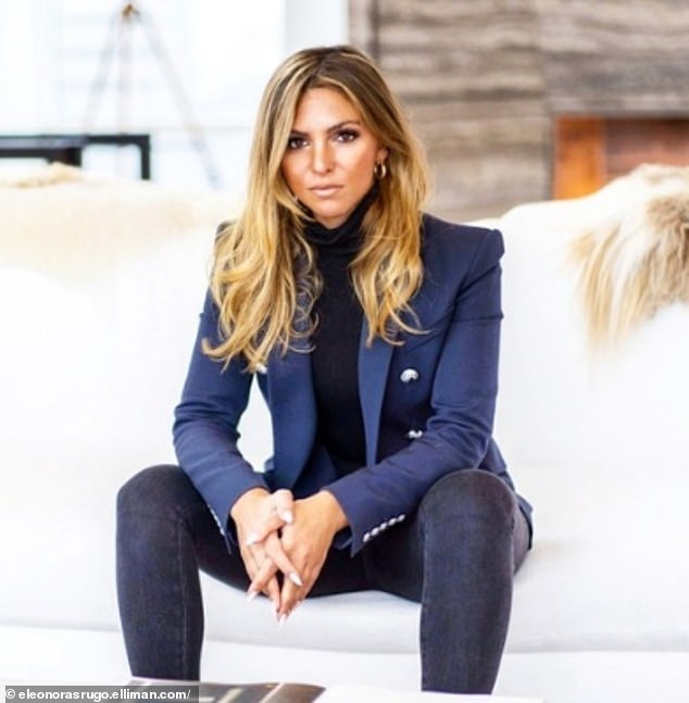 The alleged other woman: A source close to the couple has since told E! News that Clare believes he was unfaithful, allegedly having an affair with NYC-based real estate agent Eleonora Srugo