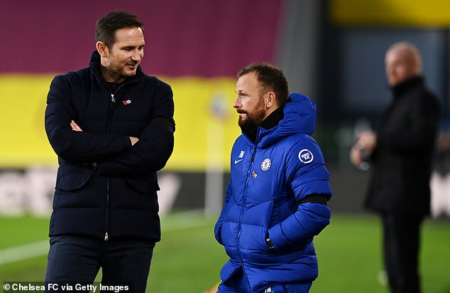 Morris followed Lampard to Stamford Bridge after working as his assistant at Derby County