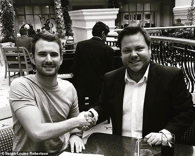 The campaign to pay for Terry's treatment was supported by starts including Britain's Got Talent winner Richard Jones (pictured with Terry) as well as Kate and Rio Ferdinand