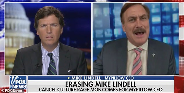 MyPillow CEO Mike Lindell sounds off against 'censorship' a day after Twitter suspends his account
