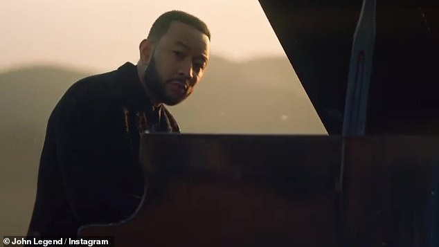 John Legend shares a glimpse of the new video for love ballad Minefields with Faouzia
